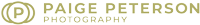 Paige Peterson Photography Logo